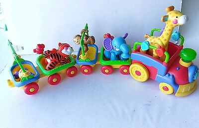 Fisher Price Animal Train With 5 Amazing Animals Sing And Go