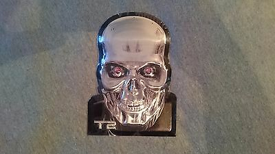 Terminator 2 Metal Plate Collectible T-2