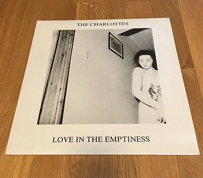 """The Charlottes Love In The Emptiness 12"""" UK 1990 MINT Indie Slowdive Flatmates"""