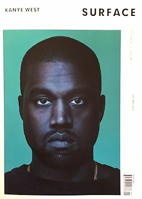 SURFACE Magazine Kanye West BY SPENCER BAILEY ALBERT WATSON NEW