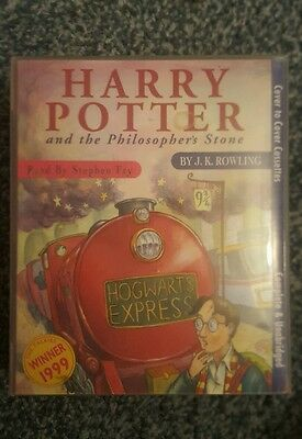 Harry Potter and the philosophers stone audio cassettes