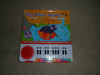 Nursery Rhymes Itsy Bitsy Spider: Novelty Activity Piano Book