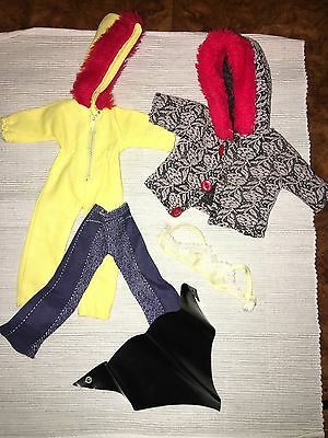 Lot # 8 Vintage Pedigree Sindy Doll And Accessories With Bra
