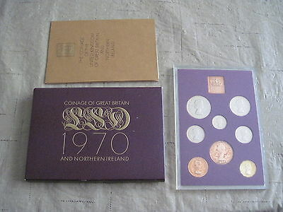 1970 Coinage of Great Britain and Northern Ireland 8- Coin Proof Set