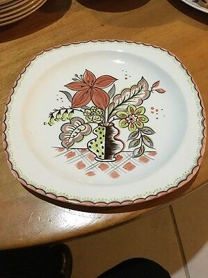 Midwinter Style craft Plate