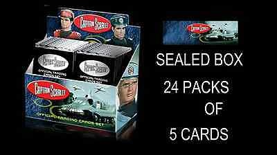 Unstoppable Cards CAPTAIN SCARLET Sealed Box - 24 Packs of 5 Cards PER BOX