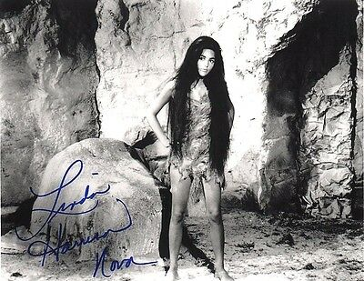 Linda Harrison as Nova in PLANET OF THE APES (1968) 8x10 AUTOGRAPHED