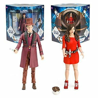 NEW Doctor Who The Impossible Set 11th Doctor and Clara Oswald Action Figures