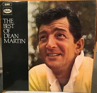 "The Best Of Dean Martin 1969 Vintage 12"" Vinyl Record LP"