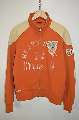vtg BELSTAFF 80th ANNIVERSARY CASUALS RETRO TRACK JACKET TRACKSUIT TOP SIZE L