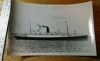"Vintage 1930's Photo Cunard Lines ""RMS Ascania"""