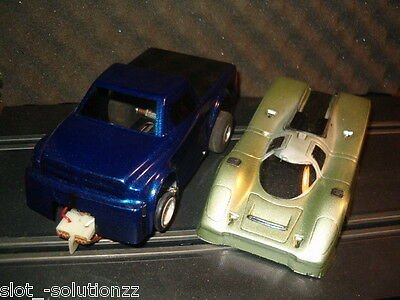 Slot Car Parma Dodge Ram Pickup And Porsche Body Awesome!! Slot Truck