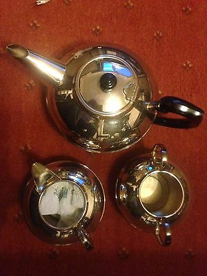 Silver Plated Tea Service Made In England