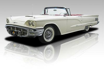 1960 Ford Thunderbird  59,771 Actual Mile Thunderbird Roadster 352 4 Barrel V8 3 Speed Automatic PS