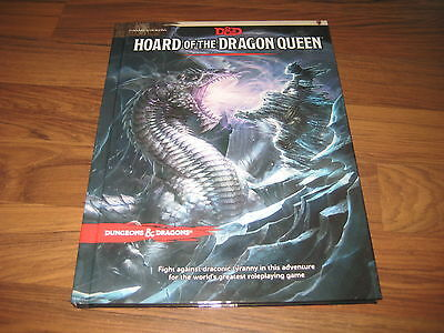 D&D 5th Edition Hoard of the Dragon Queen Hardcover Adventure WotC 2014 Neu