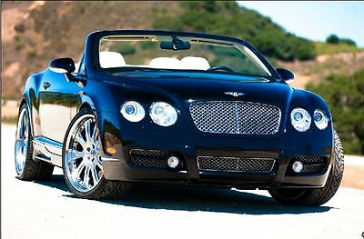 """2007 Bentley Continental GT BLACK 2007 BENTLEY GTC CONVERTIBLE """"MANSORY EDITION"""" W/ADDITIONAL 100 HP"""