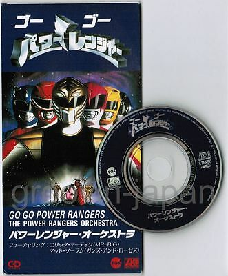 "POWER RANGERS ORCHESTRA‎ Go Go Power Rangers JAPAN 3"" CD AMDY-5127"
