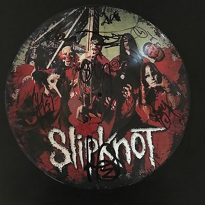 "Slipknot Self Titled 12"" Picture Disc Fully Signed Numbered Vinyl LP"
