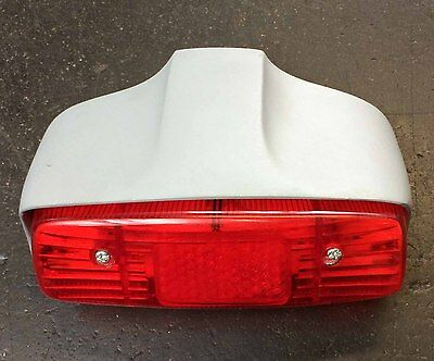 Tail light / rear lamp assembly in primer for Lambretta series 1
