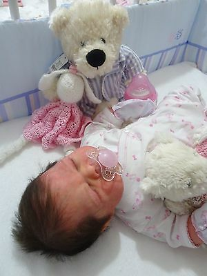 Elisse full bodied silicone  drink n wet system  reborn baby reborn doll