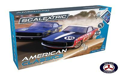 Scalextric ARC ONE American Classics Slot Car Set C1362 Brand New