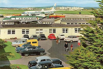 Shannon Free Airport & Industrial Estate Co. Clare Ireland John Hinde Postcard