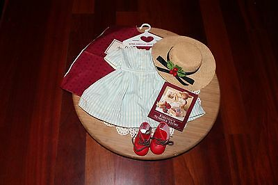 American Girl Doll Kirsten Summer Outfit, Red Boots! Pleasant Co. 1994! EUC!