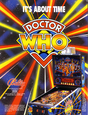 Dr Who  Pinball sound chip set