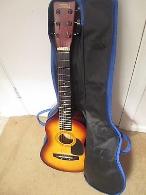 First Act Discovery Acoustic Guitar With Case Model FG-130VP