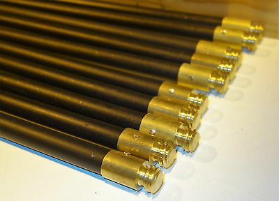 """10off 3/4"""" x 3' Drain Clearing Rods (Universal thread) Unused."""