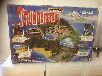Thunderbirds Tracey Island Electronic PlaySet - Fina Collection