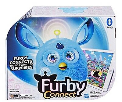Furby Connect Blue Electronic Toy Pet B6085 - Same day shipping