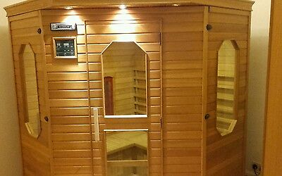 Comfort Zone Sauna with Nordic electric stove