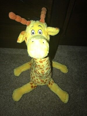 Dr. Seuss Giraffe Stuffed Plush Toy Kohls' Cares from Mulberry t