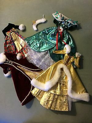 Barbie Gown Christmas Lots