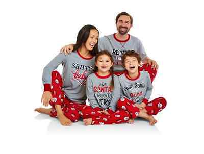 Holiday Family Pajamas Santa's List Sleepwear-299