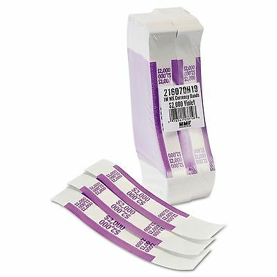 Coin-Tainer 402000 CURRENCY STRAPS for $20 BILLS * Box of 1000 $20 BANDS