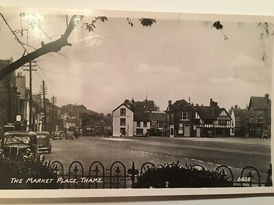 Postcard Of The Market Place. Thame, Oxfordshire