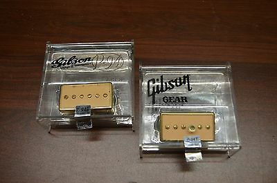 Gibson P90 Pickups - Pair P94T and P94R Gold/Creme