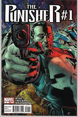 Punisher The #1 Marvel 2011 Frank Castle Re-Boot Title 1St Print Greg Rucka Nm-