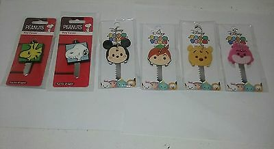 NEW Authentic PEANUTS OR DISNEY Key Cover Fun for all ages X1 Peter Pan*Cheshire