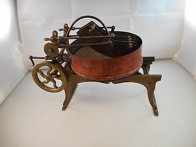 Awesome Antique Manual Food Chopper-Possible Patent Model/Salesman Sample