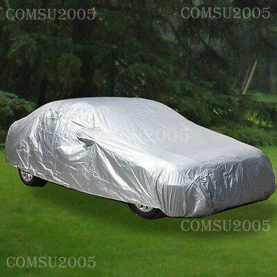 Universal Large Size Full Family Car Cover Water Resistant UV Protection CCS3S