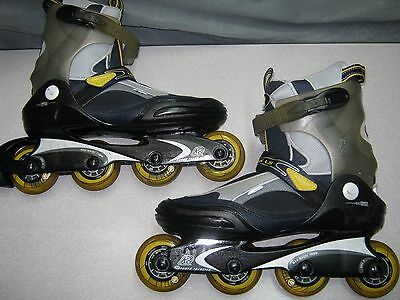 Men's 11 K2 Escape LS FitLogic ExoTech Soft Boot Inline Skates-FREE SHIPPING!!