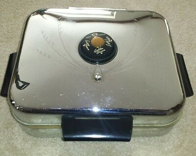 Knapp Monarch Waffle Iron Electric Works Well