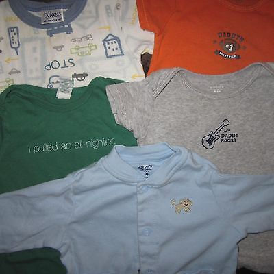 Boy's Baby Clothes Lot for Everyday Wear - 6-12 months