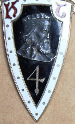 Antique Jacques De Molay #4 Masonic Knights Templar Frederick Maryland Medal
