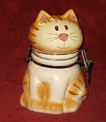 Cute Cat Glass Container