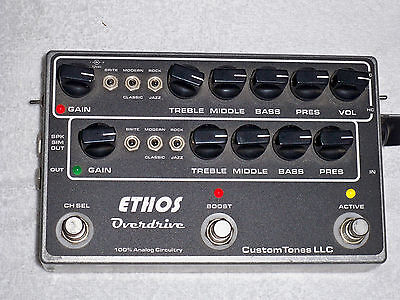 Ethos Overdrive Guitar Preamp pedal