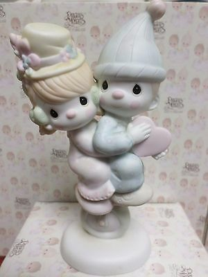 LORD HELP US KEEP OUR ACT TOGETHER -Precious Moments Figurine By ENESCO- 101850
